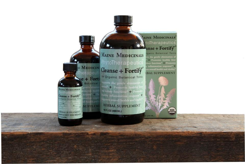 25% off Maine Medicinals, Cleanse and Fortify