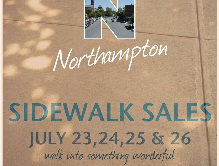 Sidewalk Sales, July 23-26, 2015