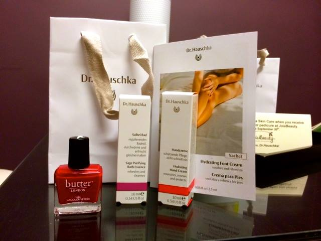 Gift with your first mani or pedi