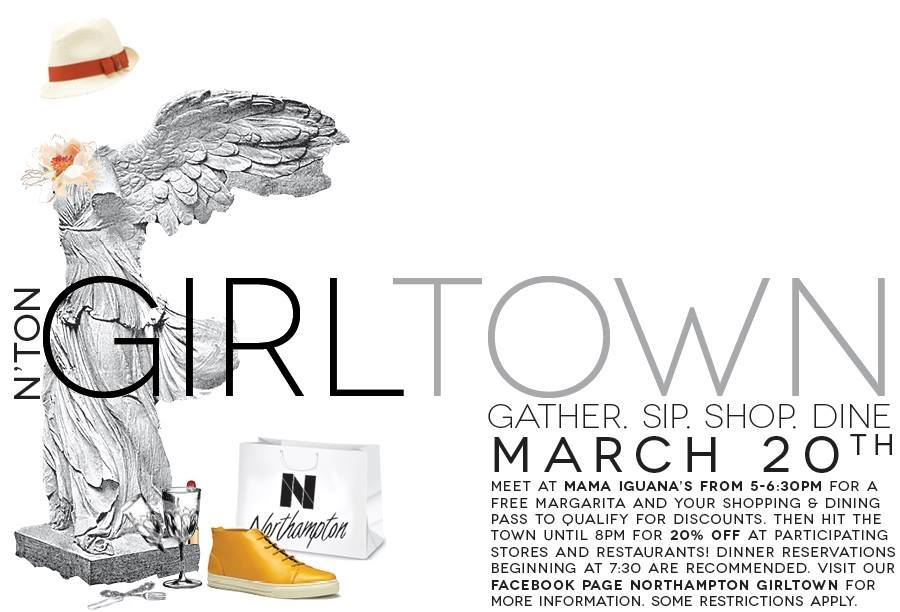 Northampton Girl Town Sale, March 20th